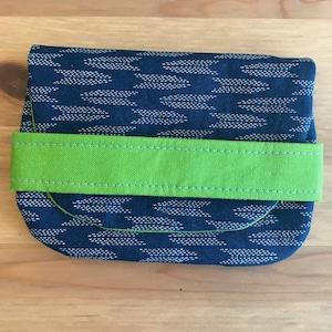 Handmade Japanese fabric business card casecard wallet