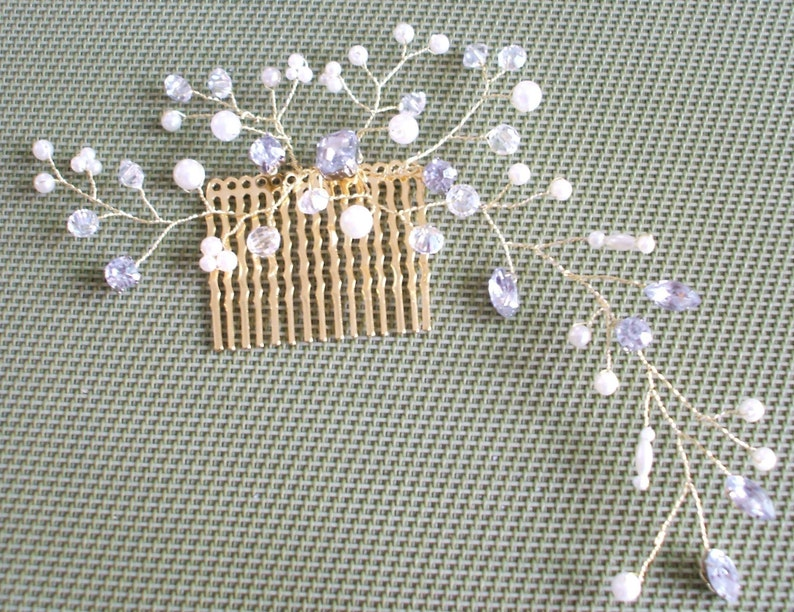 Wedding comb Bridal comb,Wedding headdress Decorative comb bridal headdress