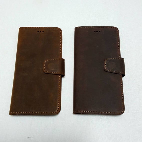 Huawei P20 Lite Phone case Crazy Leather Wallet case Folio Case for P20 Lite Stand Ability Gift for him/&her