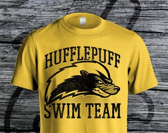 Hufflepuff Swim Team Softstyle Unisex Tee