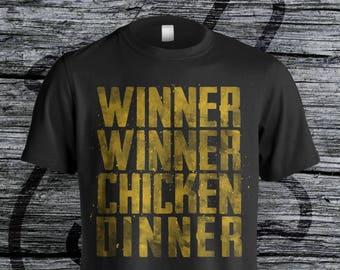 Winner Winner Chicken Dinner PUBG Distressed Unisex Tee