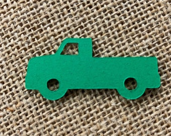 Boys Party truck shapes Party Supplies craft supplies truck die cuts Truck Paper Cut Outs