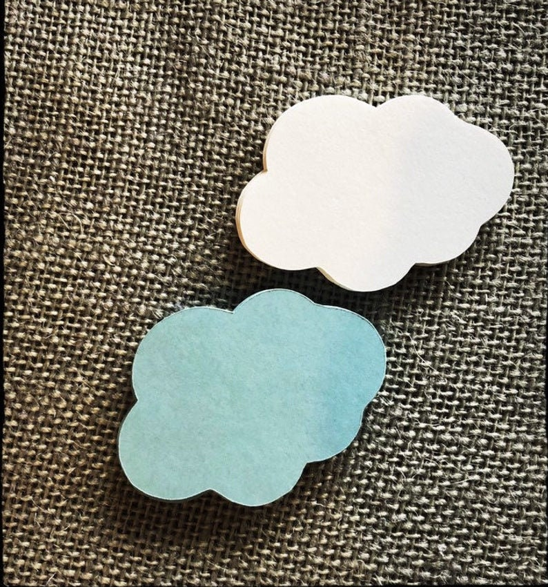 Umbrella /& Cloud Confetti ~ Baby Sprinkle Decor ~ Baby Shower Party Decoration ~ Umbrella Cutouts ~ Bridal shower confetti ~ Choose color
