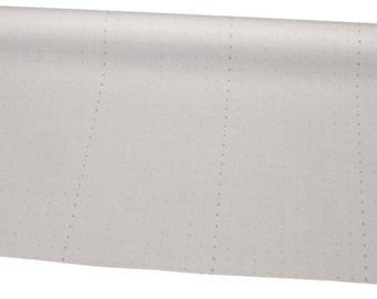 "Alphanumeric Dot Paper, 60"" Wide, 50yds, White"