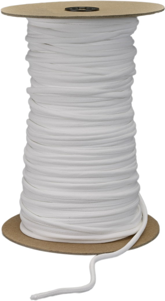 White 36 yd Pearl .5 Wide Twill Tape