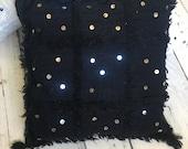 Moroccan Handmade Wedding Handira Pillow
