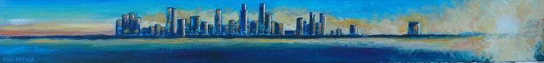 San Diego Skyline California City Wall Art Contemporary image 0