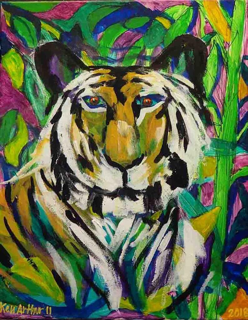 Father's Gift Big Cat Art Nature's Animals Art image 0