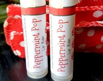 Peppermint Pop Lip Balm