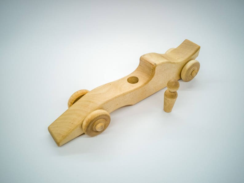 Rennauto F1 aus Holz Holzspielzeug BIO Fahrzeuge