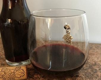 Grape Magnetic Wine Charm