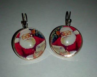 Christmas theme earrings