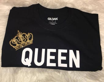 8d028b20ac3ce8 Crown Me Queen T-Shirt