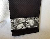 Skull & Skeleton Pattern Hand Towel