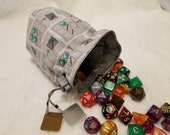 Minecraft Icons Dice Bags / Pouches