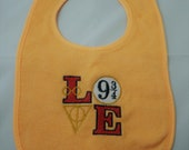 Harry Potter Embroidered Baby Bib