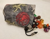 Game of Thrones Power Play Dice Bags / Pouches
