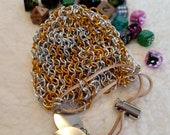Chainmaille Dice Bag