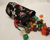 Pirate Skulls Dice Bags / Pouches