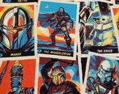 Star Wars Mandalorian and The Child Geek Reusable 2 Layer Face Masks