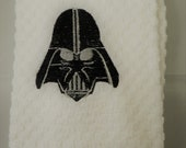 Darth Vader Logo Embroidered Hand Towel