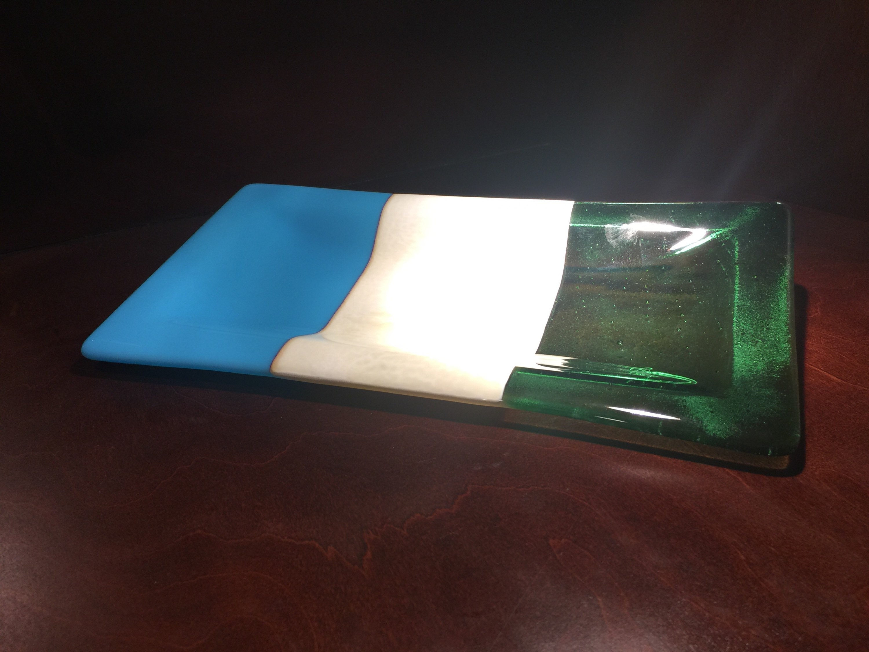 Unique Christmas gift ideas, gifts for mom, fused glass tray ...