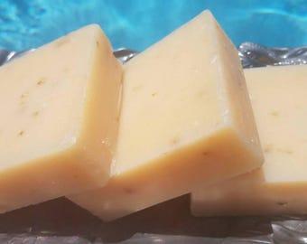 Cherry Almond Soap Bar, Shea Butter Soap, Cherry Soap, Almond Soap, Gentle Moisturizing Bar, Soap as a Wedding Favor, Soap Gift