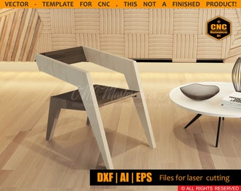 parametric design etsycnc chair,living room and office chair high tech style,wood parametric furniture project for cnc laser cutting