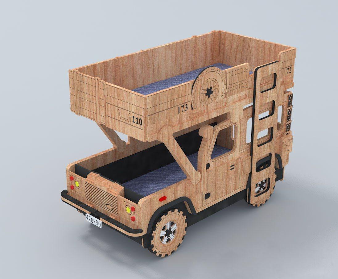 Etagenbett Auto : Kinder etagenbett auto cnc projekt dekoration deko etsy