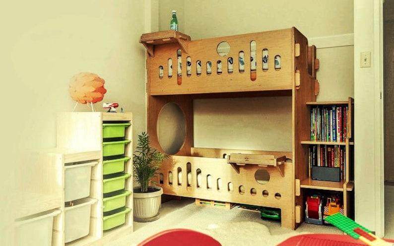Dekoration Etagenbett : Kinder etagenbett. cnc dekoration dekorativ kunst etsy