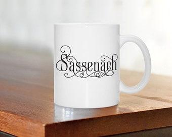 Sassenach, Outlander Mug, Coffee/Tea Ceramic Mug (cm-cc-10174)