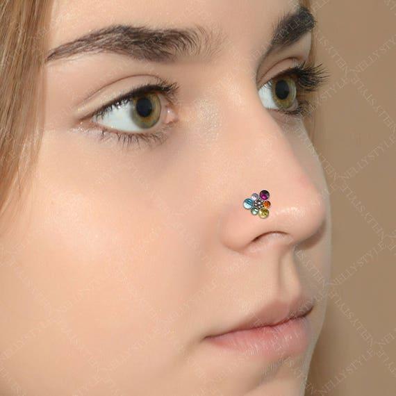 Nostril Stud Nose Ring Stud Surgical Steel Nose Piercing