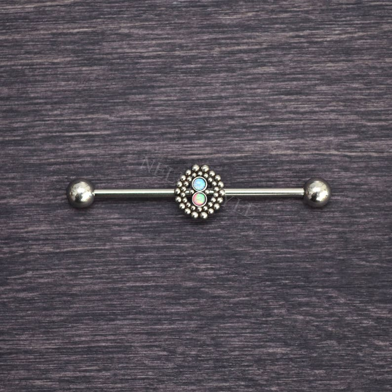 Scaffold Jewelry Surgical Steel Industrial Barbell
