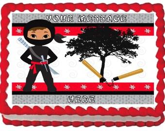 Ninja Warrior Cake Etsy
