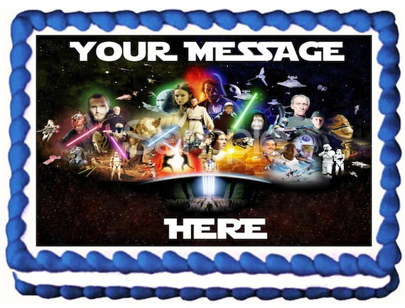 Cake Toppers Star Wars Cake Decorations