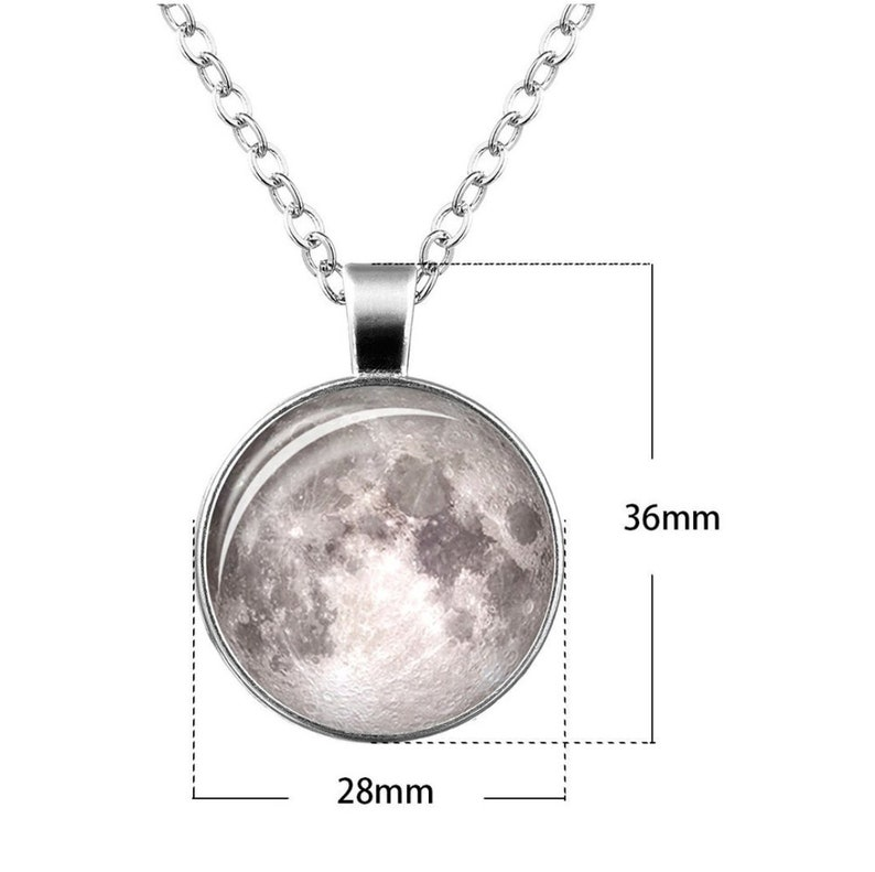Moon bracelet and necklace