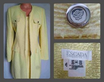 4eaf68f6aa0a Vintage Escada Dress Set