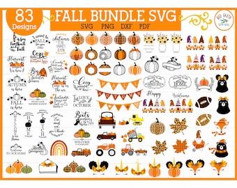 Fall bundle svg,autumn bundle,thanksgiving,fall quotes,fall quotes,pumpkin bundle,plaid pumpkin,drip SVG, PNG, Eps,DXF,Pdf cricut,silhouette