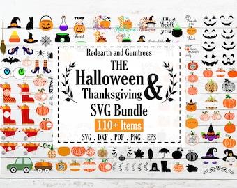 Huge Halloween and Thanksgiving bundle,Halloween quotes, fall autumn,pumpkin SVG, PNG, Eps, DXF,Pdf cricut,silhouette studio,cut file,vinyl