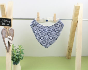 DRIBBLE BIB - organic cotton - made in France