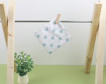 WASHABLE HANDKERCHIEF - organic cotton