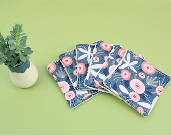 ZERO WASTE - washable face pad set of 6 - organic cotton