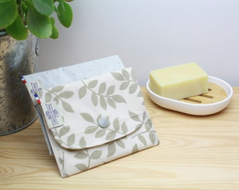 SAVON POCHETTE in organic cotton