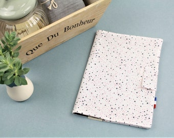 Health booklet protection cover - organic cotton