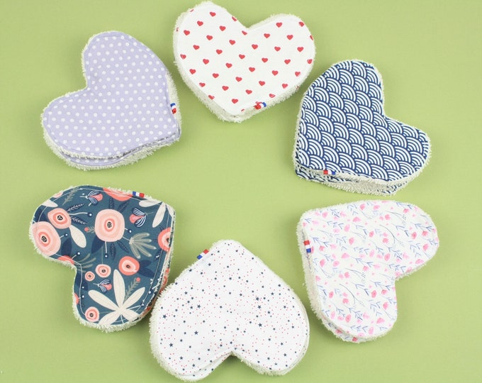 Featured listing image: WASHABLE FACE PADS set of 6 - organic cotton