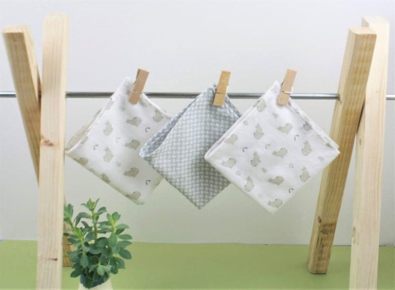 pour toute la famille sélectionner pour dernier magasiner pour l'original MOUCHOIRS EN TISSU - coton biologique - lot de 3
