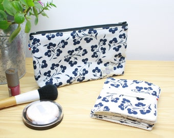 TROUSSE - batch of 6 make-up remover wipes - organic cotton