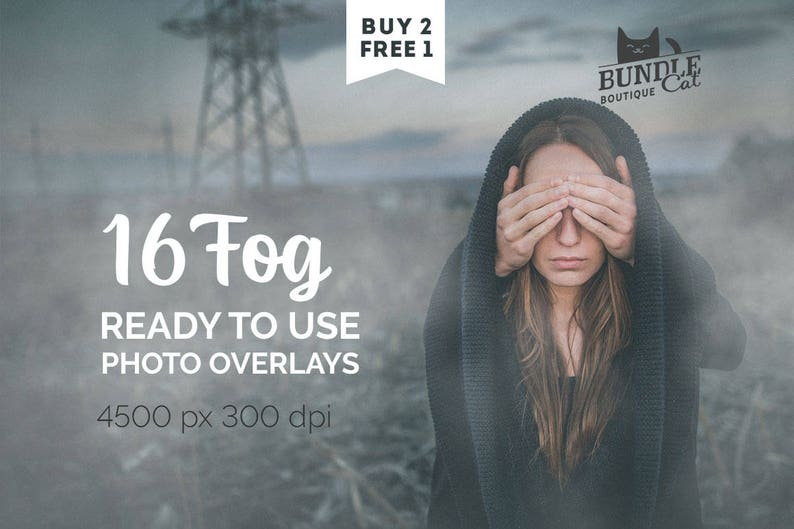 16 Fog Photo Overlays  Fog overlays, Smoke overlays, Digital fog, Digital  smoke, Photoshop overlays, Halloween overlays, photo overlay