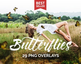 Butterfly Overlays, Photo Overlays, Butterfly Png, Spring Overlays, Butterflies Overlays, Butterfly Clip Art, Summer Overlays,