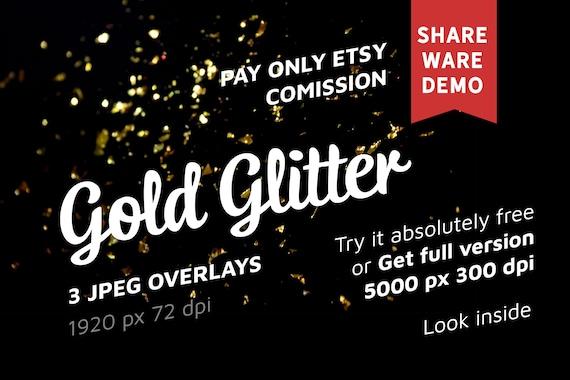 Free Gold Glitter Photo Overlays, Glitter Effects, Gold Glitter Overlays,  Glitter Photo Overlay, Photoshop Overlays, Photo Overlays